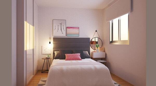 No Feng Shui quarto pequeno ou amplo procure manter as portas dos armários fechadas