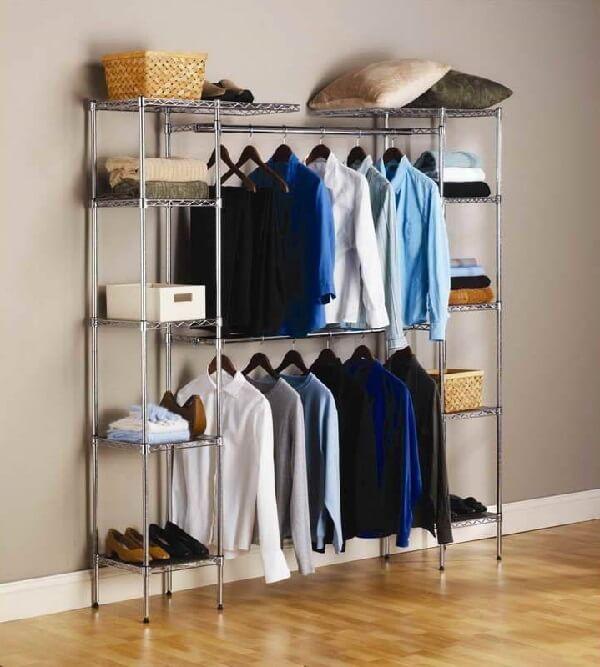 O estilo do closet deve se conectar com a decoração do ambiente
