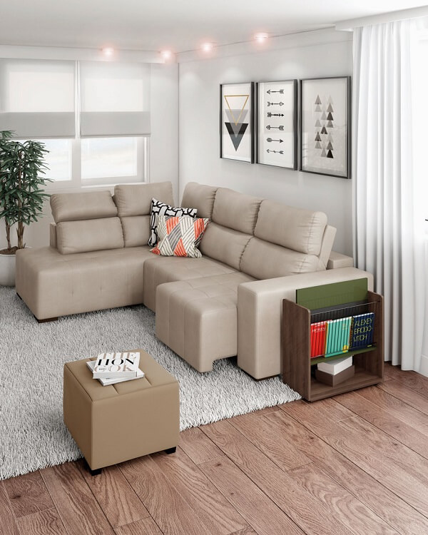 On the sofa, corner, sliding and brings a beauty, and a lot of comfort to a living room