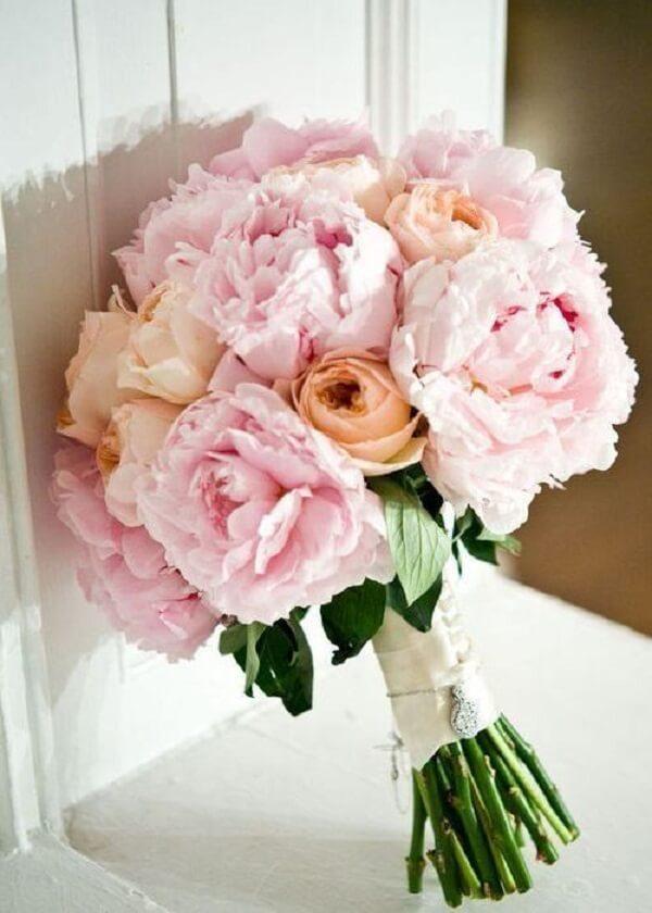 Opte pelo buquê de Peônias no dia do seu casamento