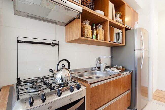 Realize periodicamente a limpeza do eletrodoméstico para evitar o entupimento da boca de fogão