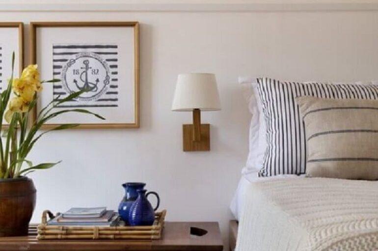 abajur de parede para quarto de casal Foto Pinterest