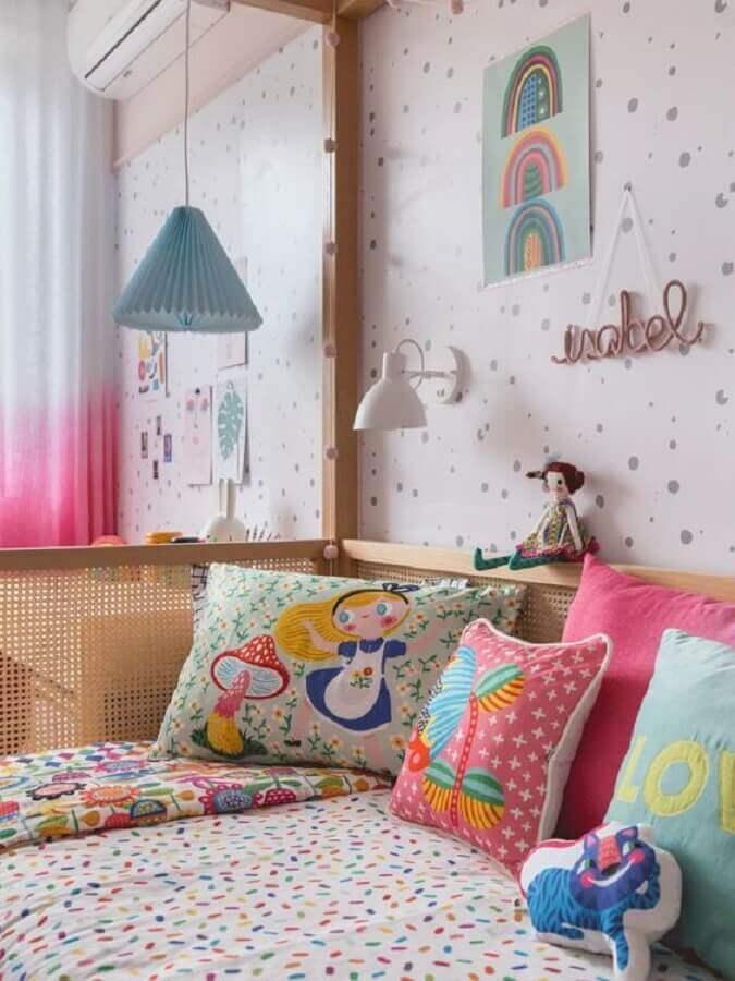 almofadas para quarto infantil feminino Foto Mimoo Toys