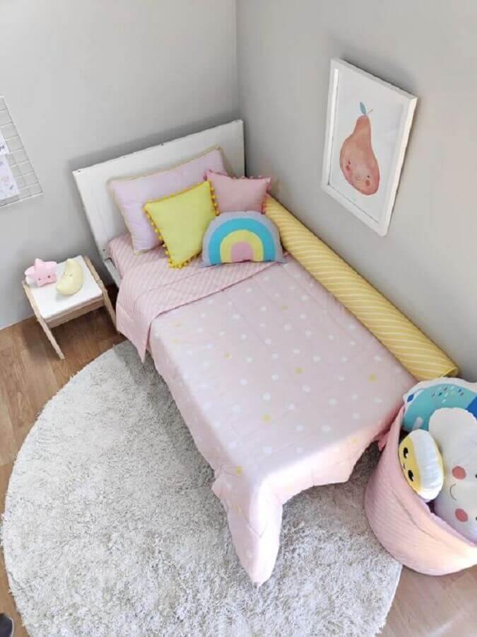 almofadas para quarto infantil simples Foto Coisinhas Bacanas