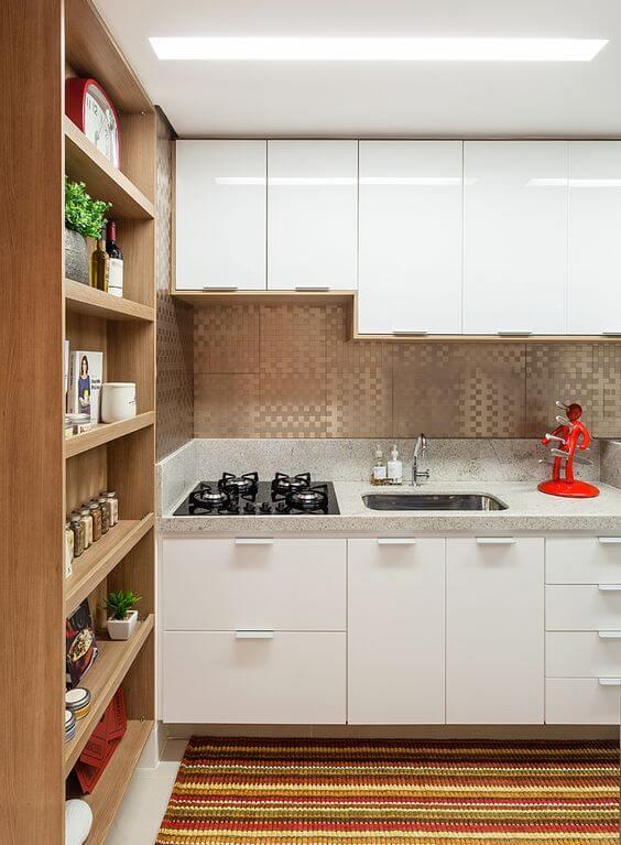 Cozinha pequena planejada