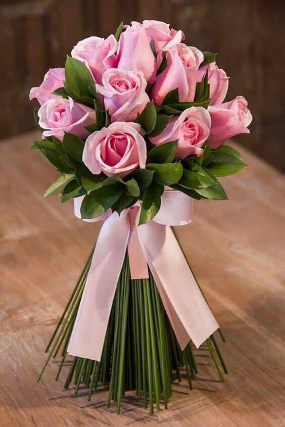 Flor rosa cor-de-rosa
