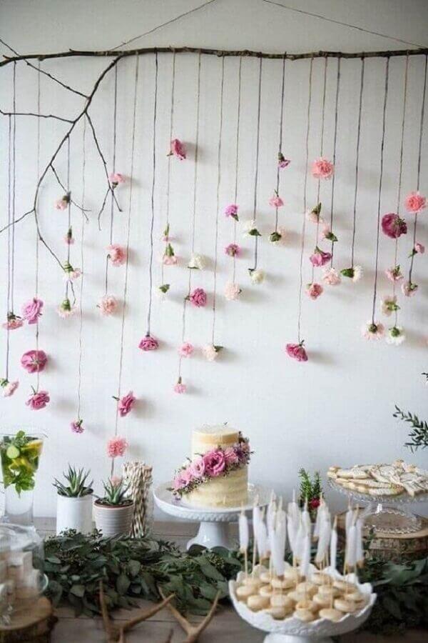 bodas de cristal decoração simples Foto Revista Artesanato