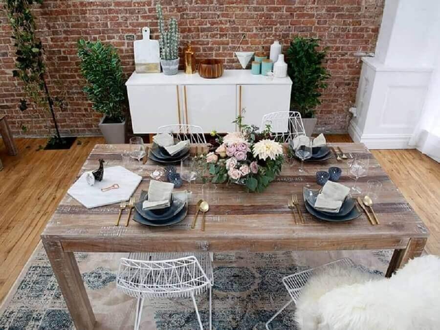bodas de cristal decoração simples para festa em casa Foto Pinterest