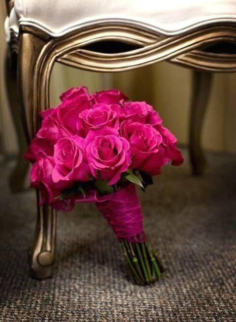 Buquê de rosas pink