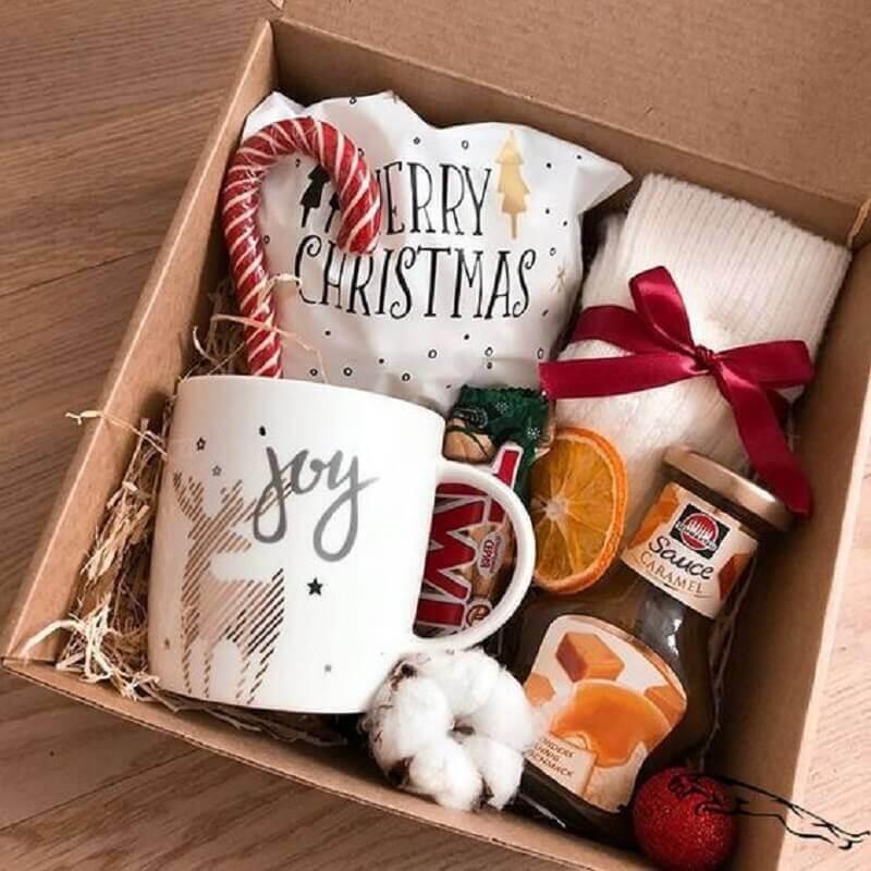 caixa de surpresa para natal Foto Pinterest