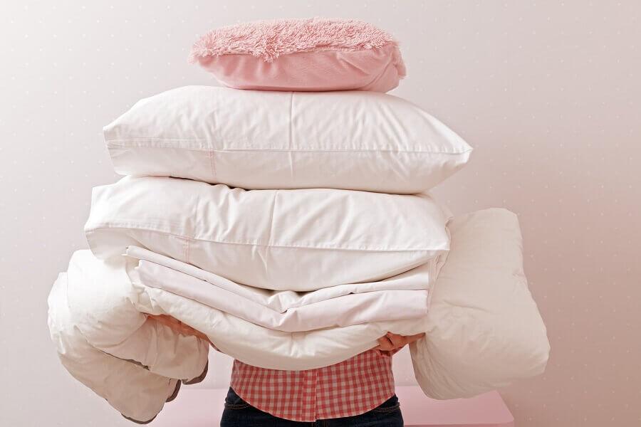 como lavar travesseiro de espuma Foto Pinterest