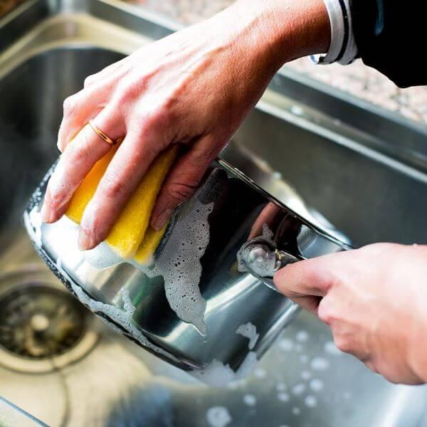 Como limpar inox: Panelas