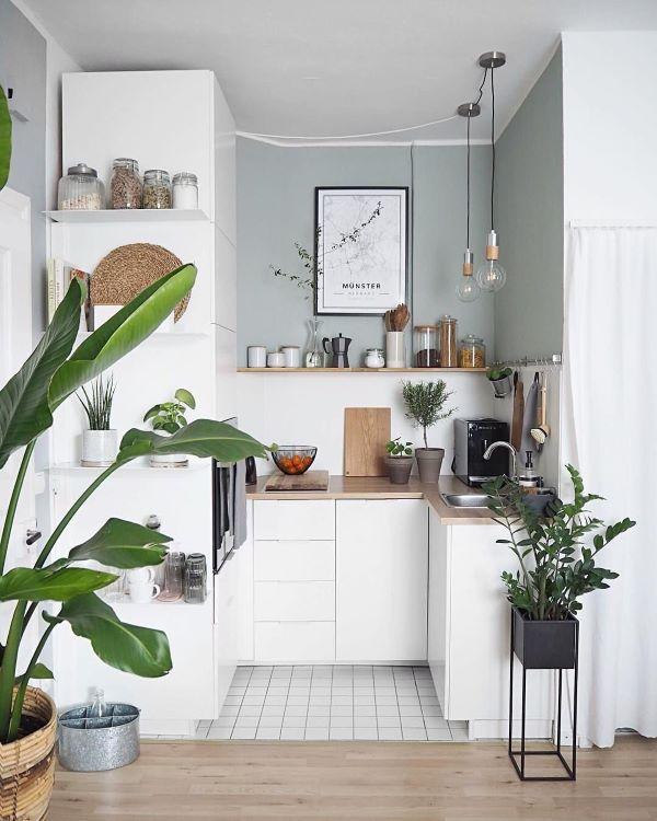 Cozinha completa branca