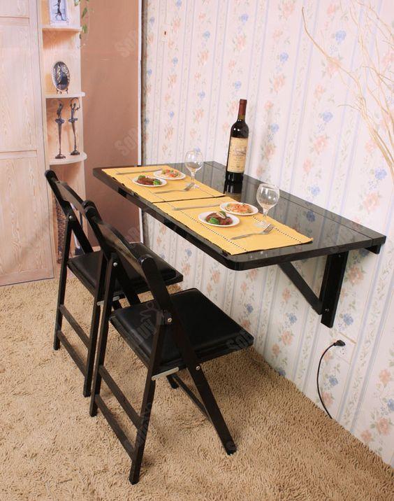 Cozinha pequena dobrável e prática