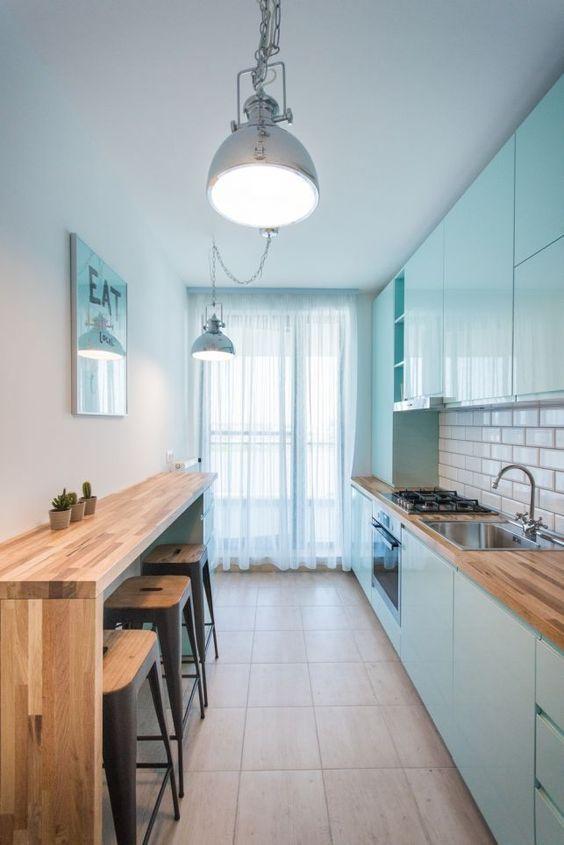 Cozinha pequena e prática