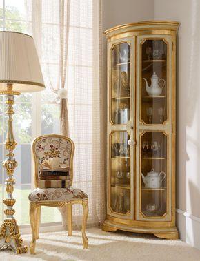Cristaleira de vidro clássica e moderna