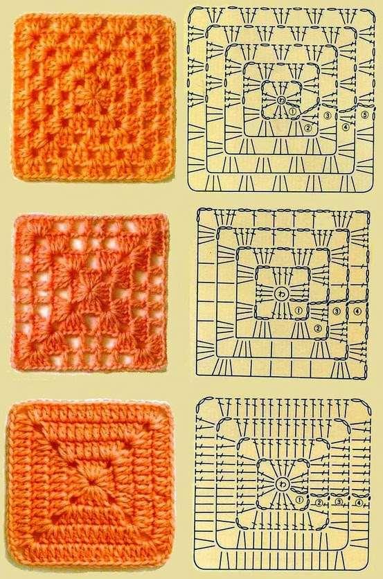 Gráfico de crochê para iniciantes