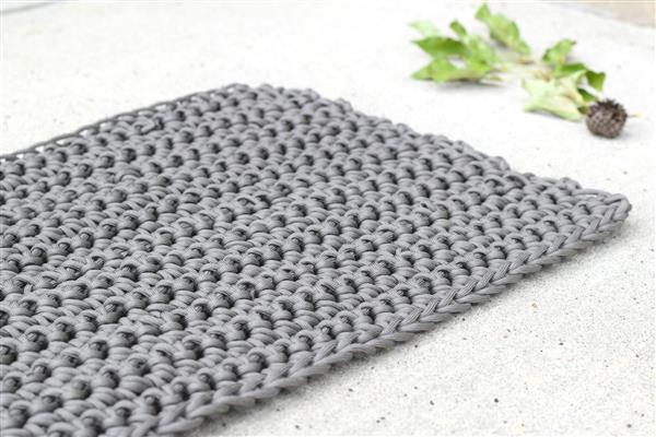 Tapete de crochê para iniciantes simples