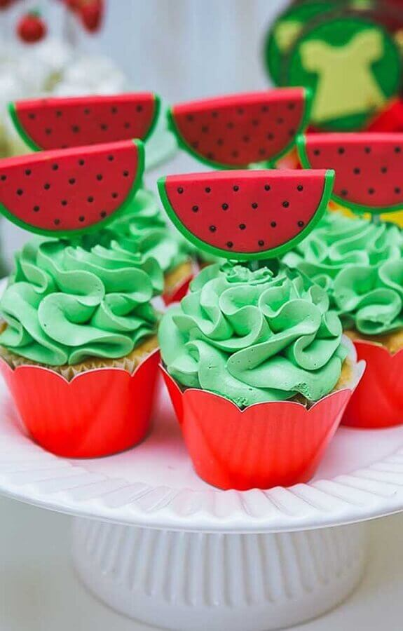 custom cupcakes for magali party table decoration Photo Super Party for Children