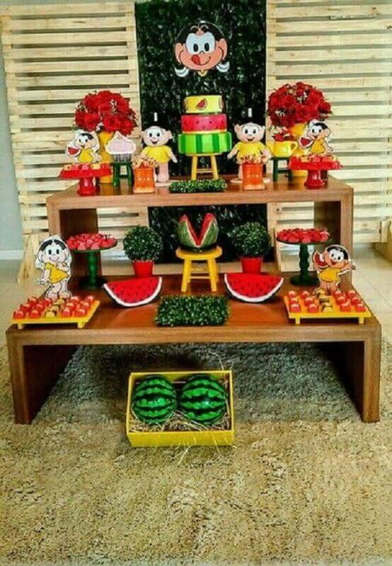 magali children's party decoration Foto Pinterest