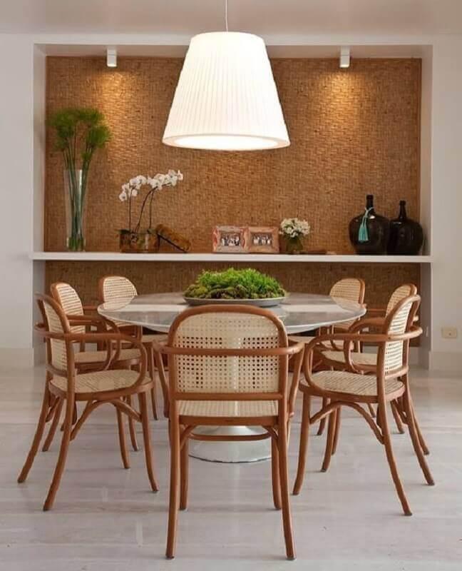decoração para centro de mesa de jantar Foto Pinterest