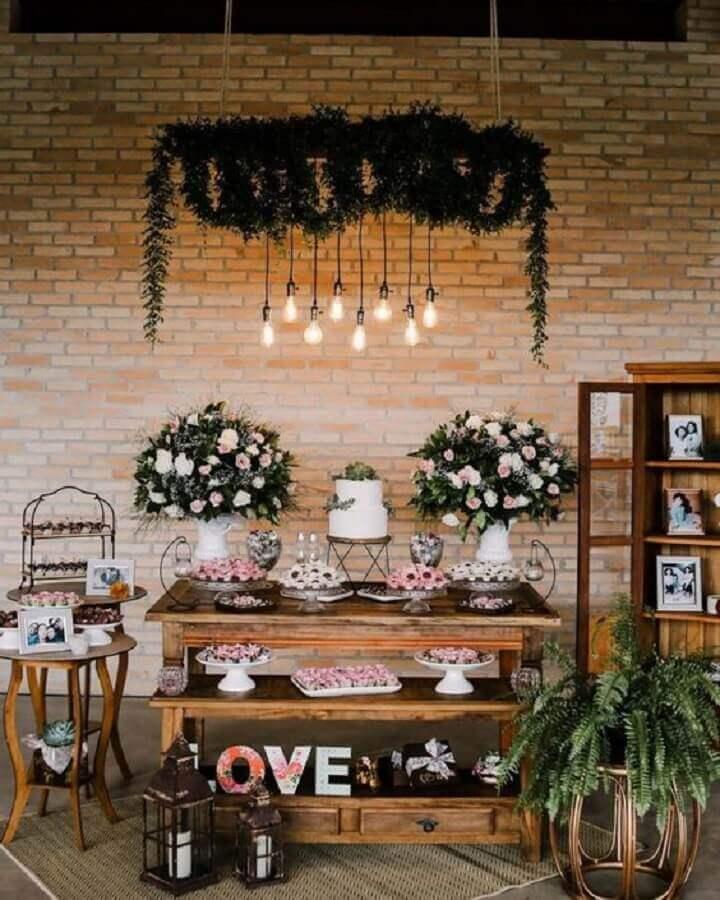 decoração rústica para bodas de cristal Foto Dicas de Mulher