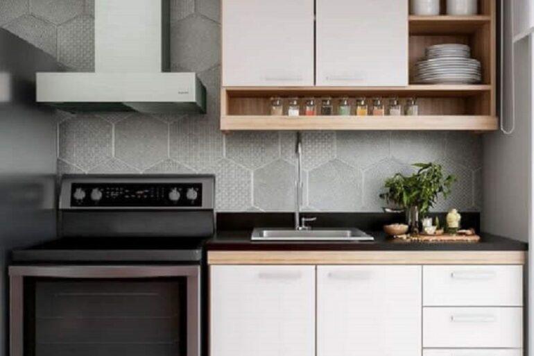 decoração simples com armário de cozinha compacta Foto We Love It