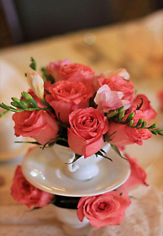 Decore sua casa com lindas rosas