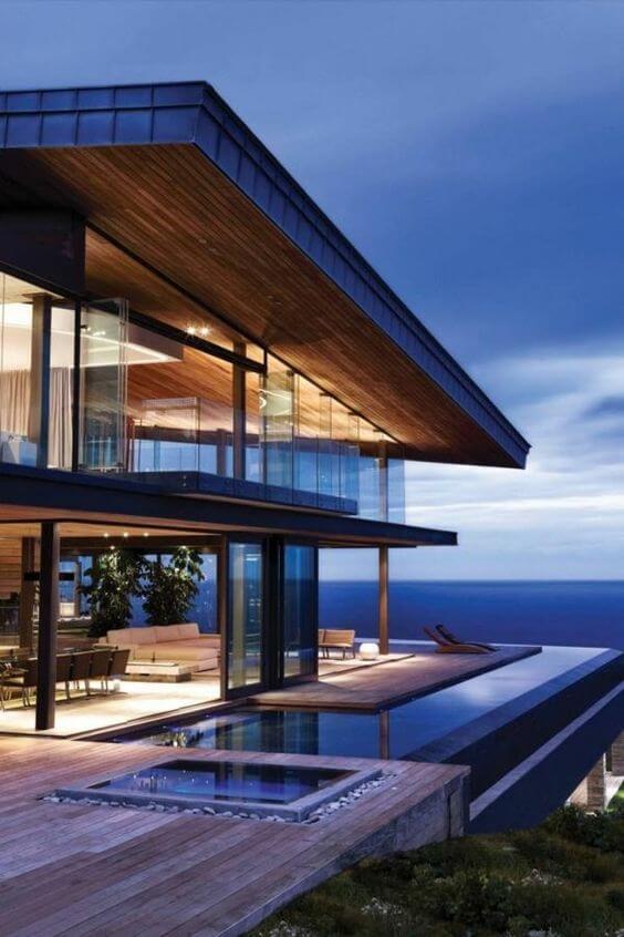 As fachadas de mansões são lindas e imponentes