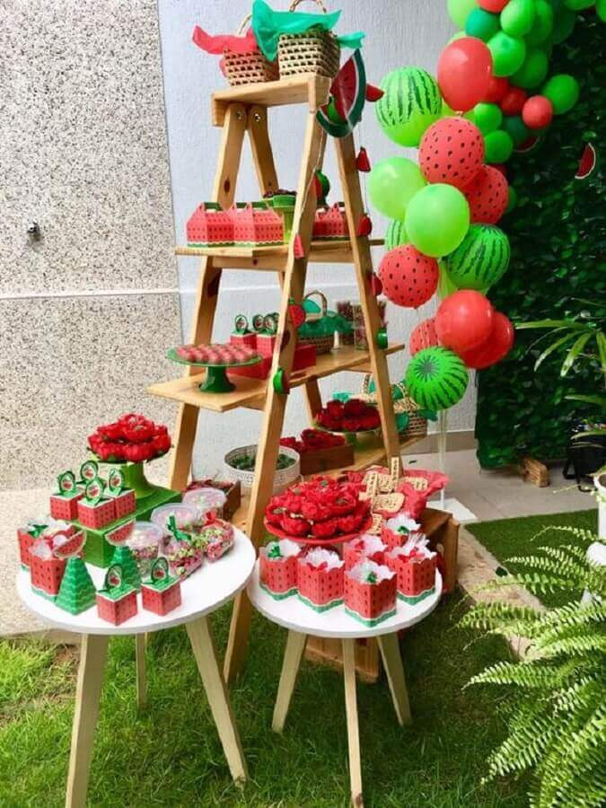 idea for magali's birthday party with little gift boxes Photo Finding Ideas