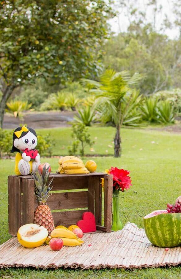 idea for outdoor magali party decoration Foto Pinterest