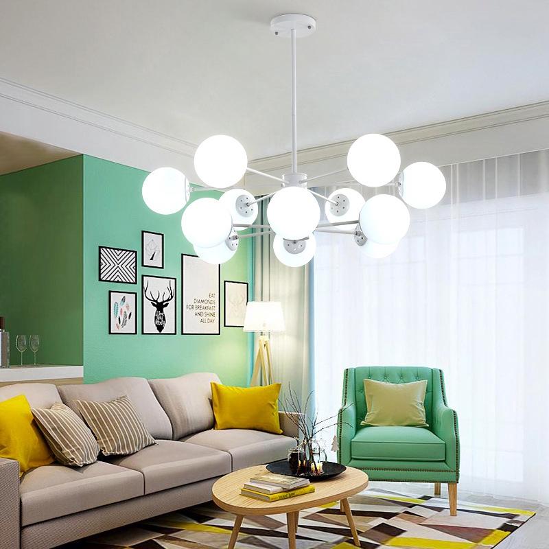 Luminárias de led decorativas para sala