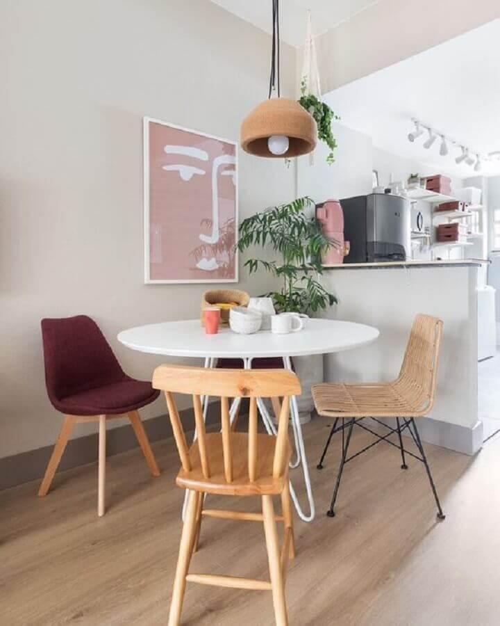 lustre para mesa de jantar pequena Foto Pinterest