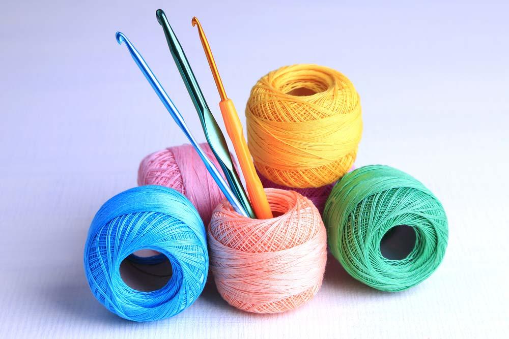 Coisas de crochê para iniciantes: Agulha e linha