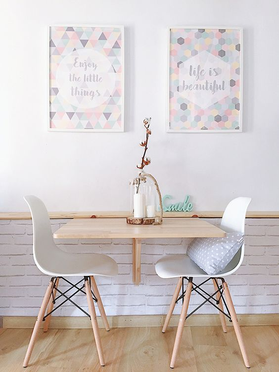 mesa para cozinha pequena 2 lugares