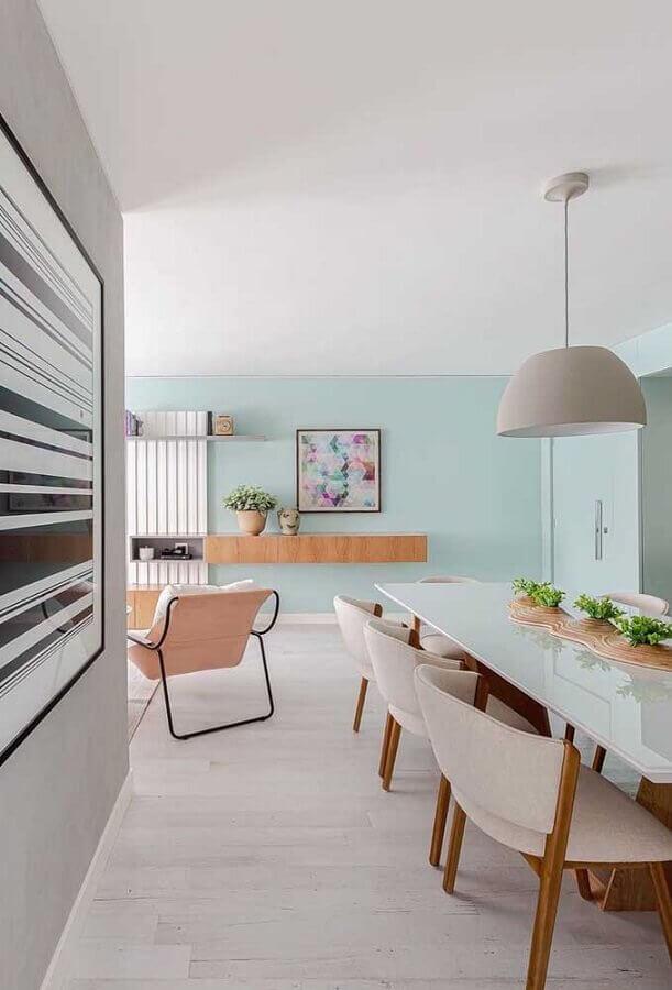 modelo diferente de centro de mesa de jantar moderno Foto Pinterest