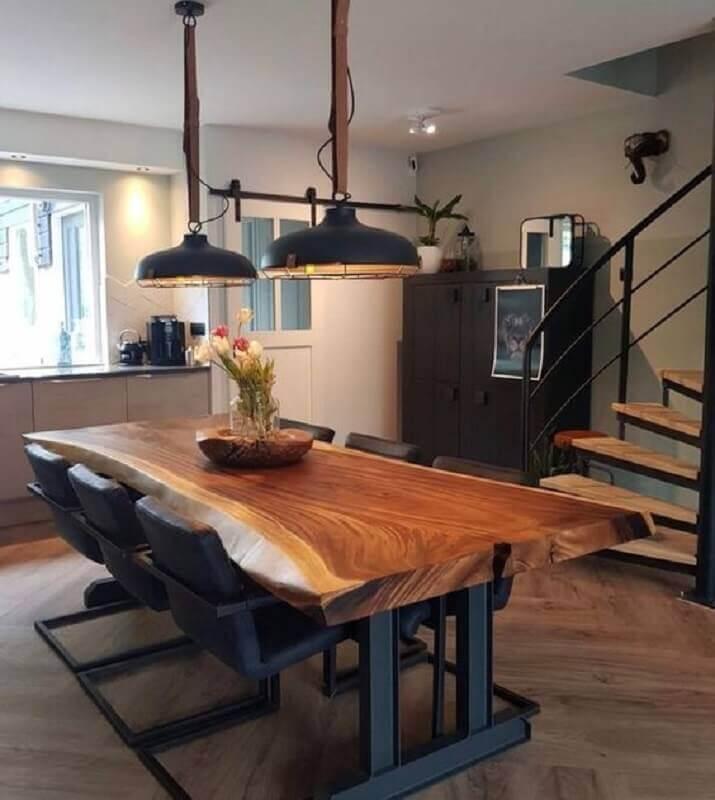 modelo rústico de centro para mesa de jantar Foto Pinterest