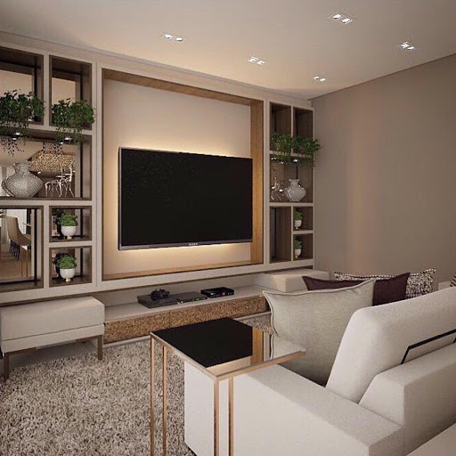 Painel para tv 50 polegadas de luxo