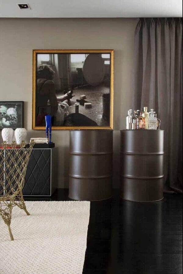 tambores decorativos para casa moderna e sofisticada Foto Homedit