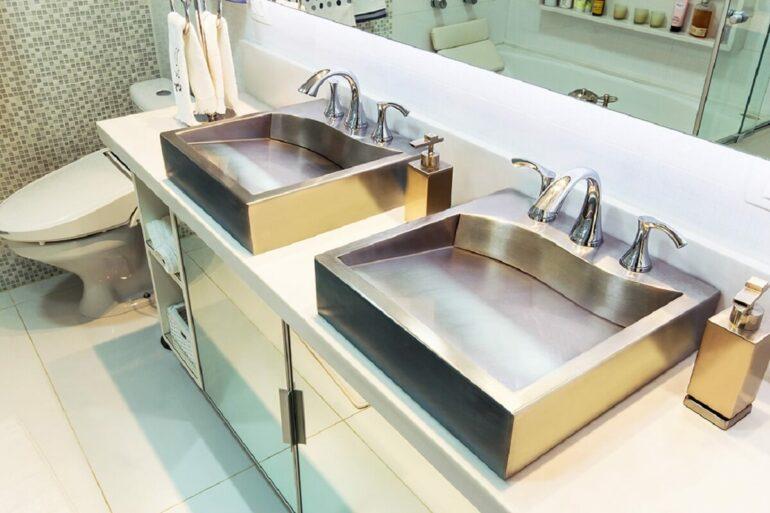 Dicas para escolher a melhor cuba de inox para banheiro