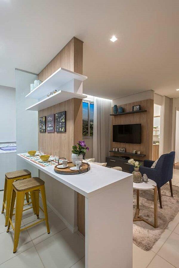 Kit quadros decorativos para cozinha fixados acima da bancada