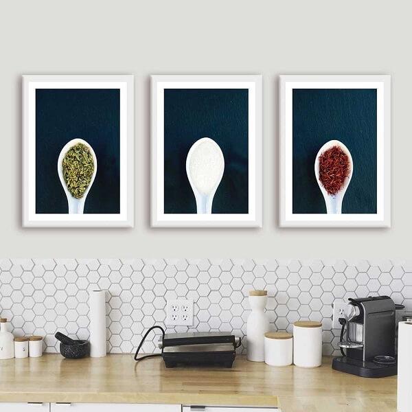 Modelos de quadros decorativos para cozinha com temperos