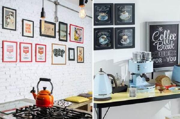 Modelos de quadros decorativos para cozinha que inspiram