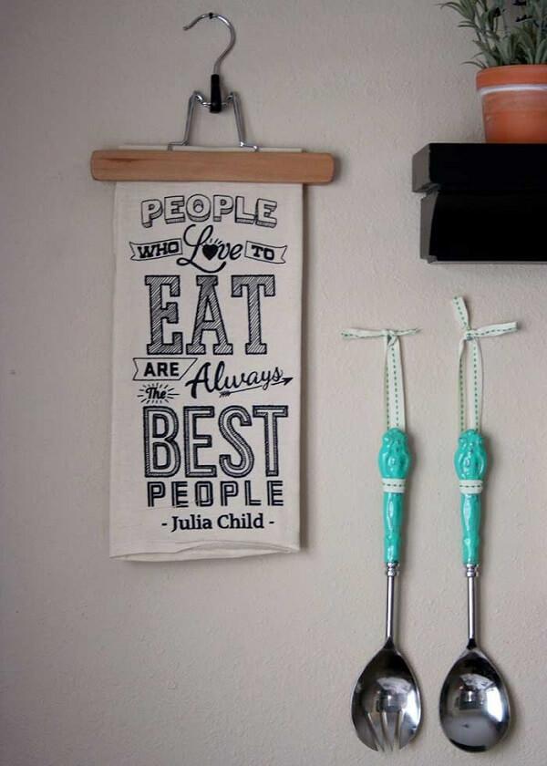 Quadros decorativos para cozinha com frases que inspiram qualquer chefe