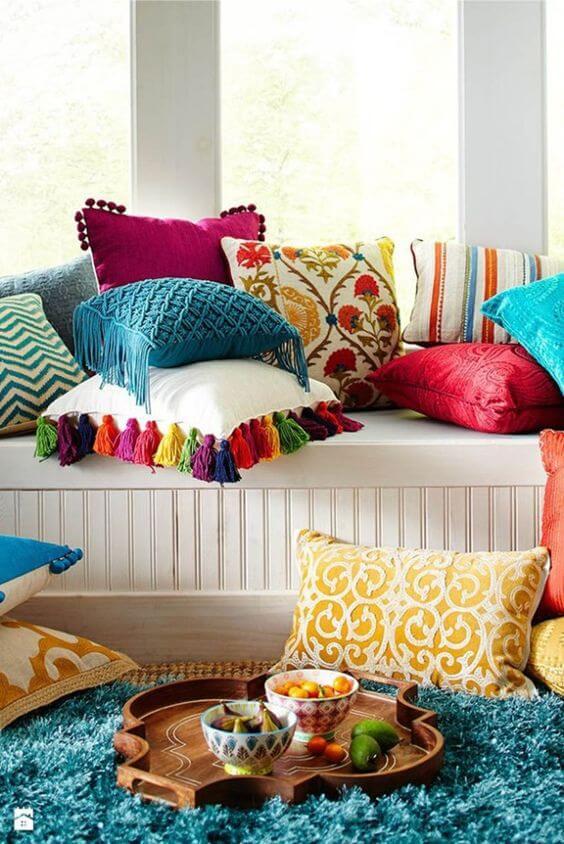 Almofadas decoração árabe