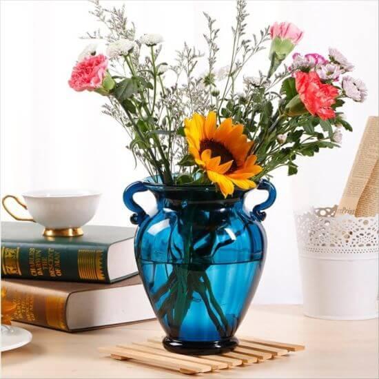 Você também pode usar sua ânfora como vaso de flores