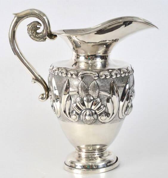 Anfora de prata estilo jarra