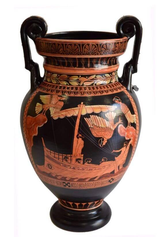 Vaso ânfora romana