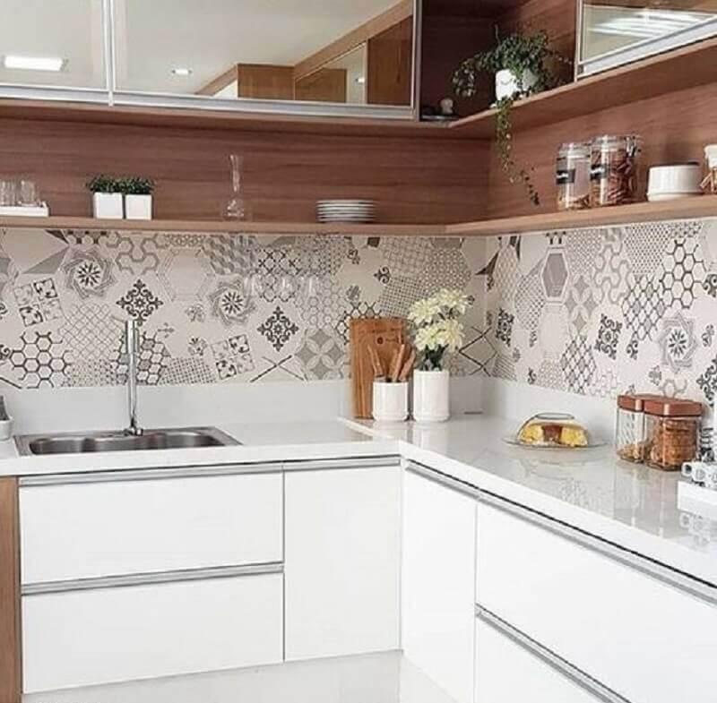 bancada para cozinha pequena de canto Foto Archzine