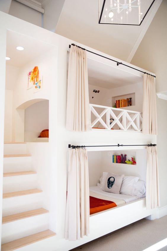 Beliche planejada no quarto pequeno